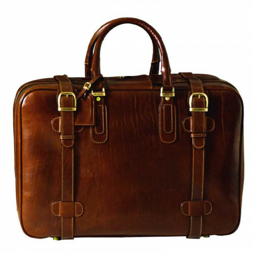 The Bridge STORY VIAGGIO SUITCASE 70 CM, 085750 in de kleur 14 marrone 8033748057175