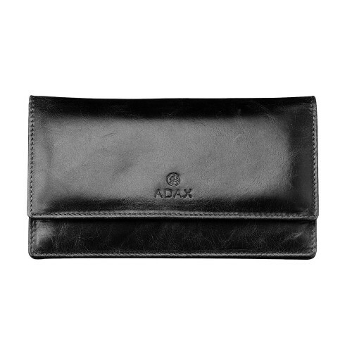Adax SALERNO LADIES PURSE, 130569 in de kleur black