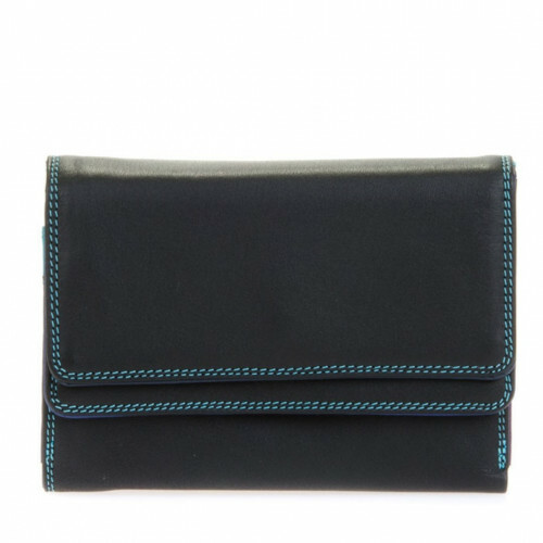 Mywalit SOFT DOUBLE FLAP PURSE, 250 in de kleur 4 black pace 5051655004672