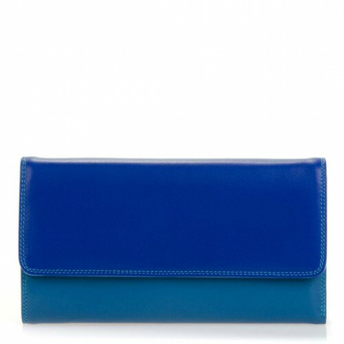 Mywalit SOFT TRI-FOLD ZIP PURSE L, 269 in de kleur 92 seascape 5051655037496