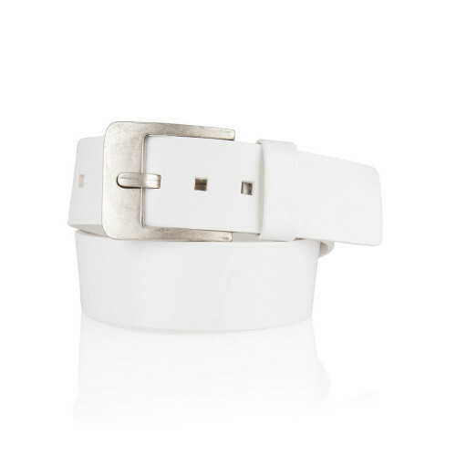 Cowboysbelt THE BELT, 51035 in de kleur 200 white
