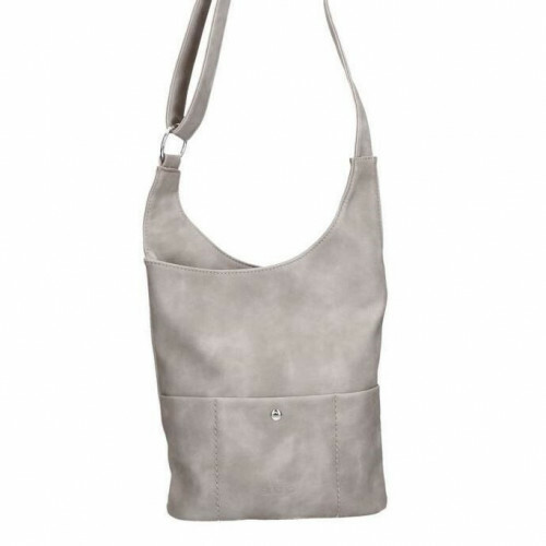 Sina Jo Schoudertas, 634 in de kleur 810 light grey 4049391196592