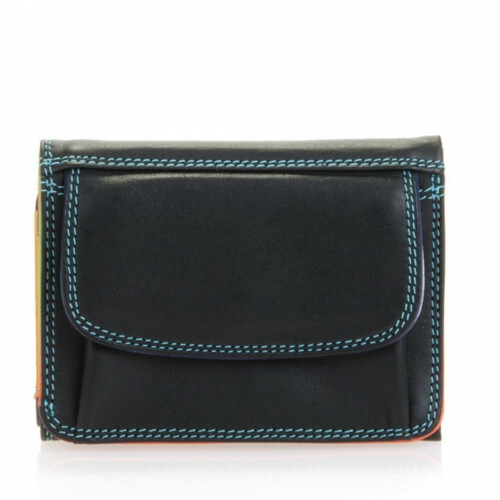 Mywalit SOFT TRIFOLD WALLET, 243 in de kleur 4 black pace 5051655018815