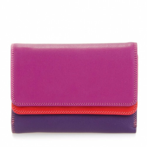 Mywalit SOFT DOUBLE FLAP PURSE, 250 in de kleur 75 sangria multi 5051655024465