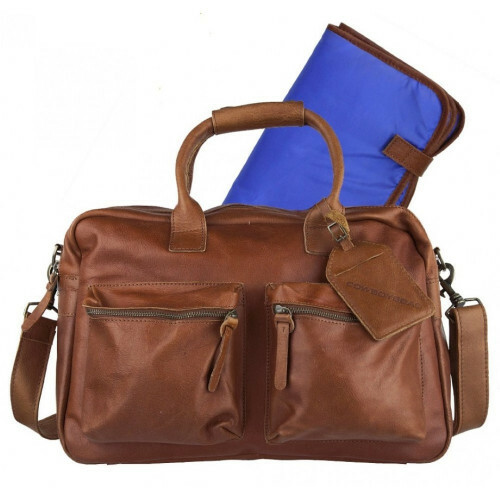 Cowboysbag THE BAG THE DIAPER BAG, 1249 in de kleur 300 cognac 8718586207394