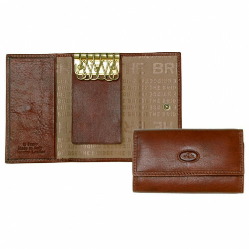The Bridge STORY UOMO KEY CASE 6HOOK, 018016 in de kleur 14 marrone 8033748133459