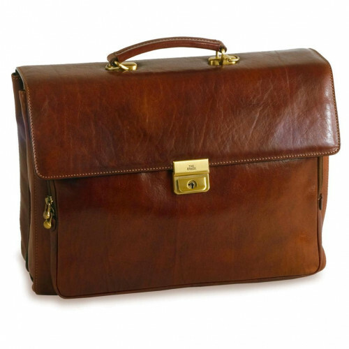 The Bridge STORY UOMO BRIEFCASE CM 42, 064325 in de kleur 14 marrone 8033748050237