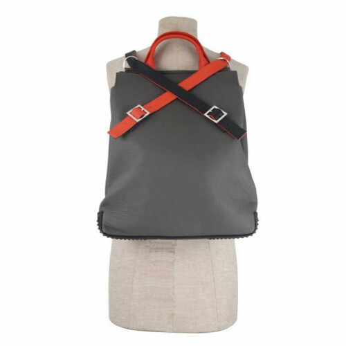 Hester van Eeghen NERF-LEDER SUPER DUPER L, SUP in de kleur grey-light black or